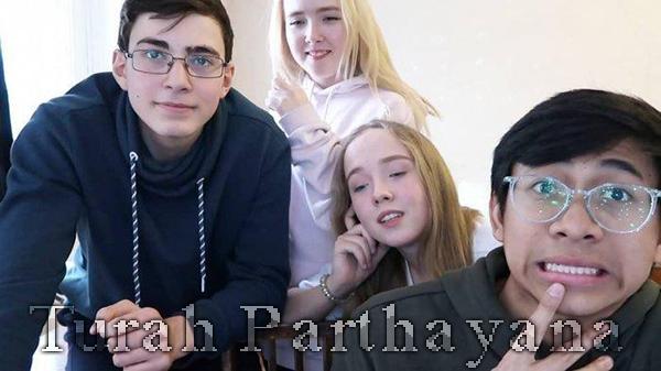 Youtuber Turah Parthayana yang Bersekolah di Rusia
