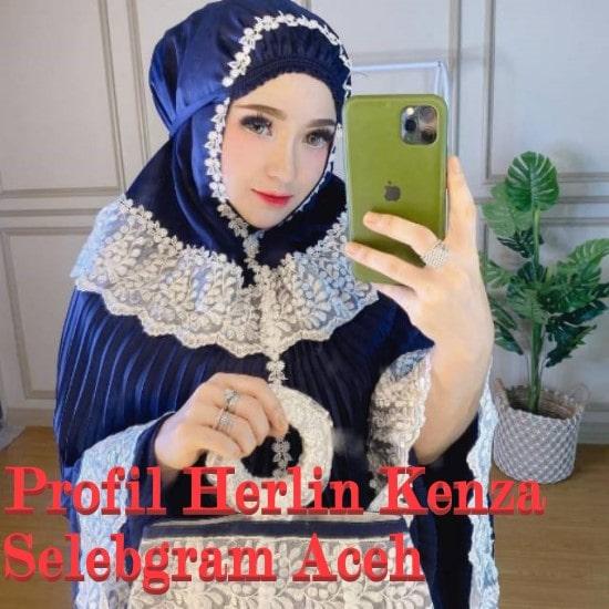 Profil Herlin Kenza Selebgram Aceh yang Jadi Tersangka Kasus Kerumunan